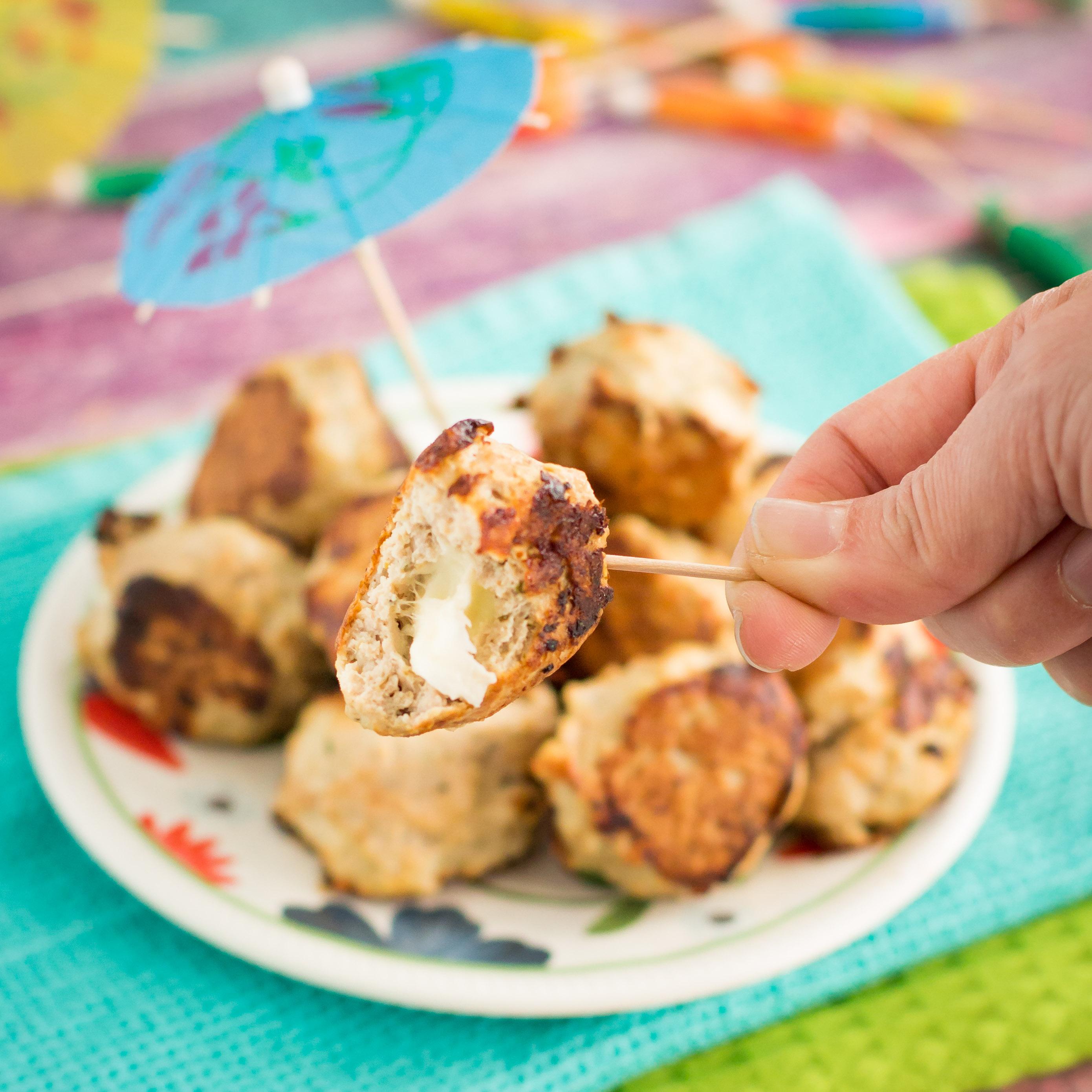 cheese stuffed meatballs-17