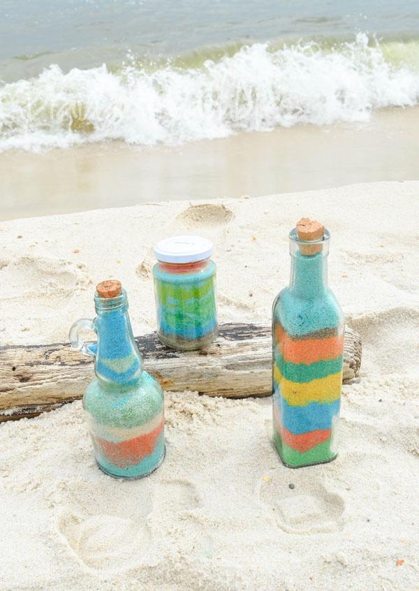 Diana Rambles - Botellas de arena art
