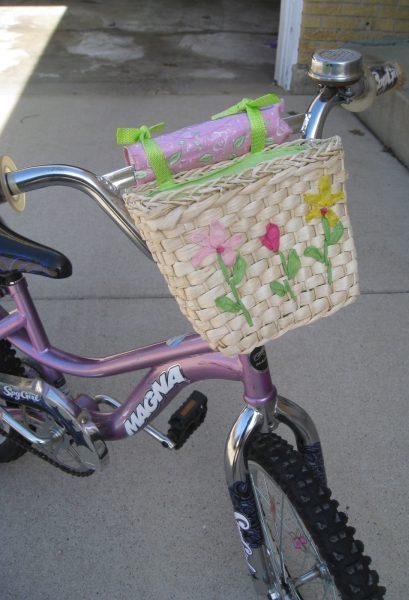 Dollar Store Bike Basket