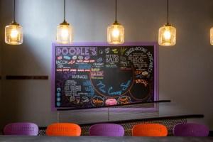Doodles Donuts Chalkboard