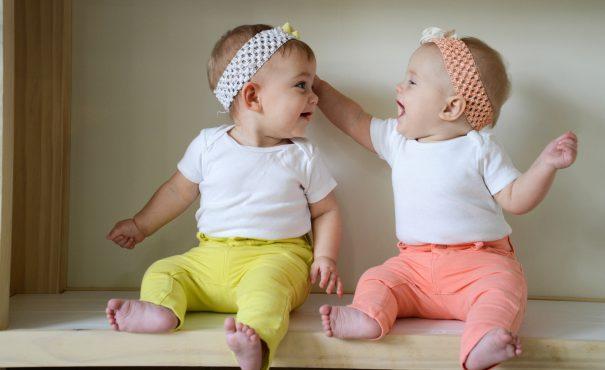 happy twin baby girls -cc- Donnie Ray Jones via Flickr