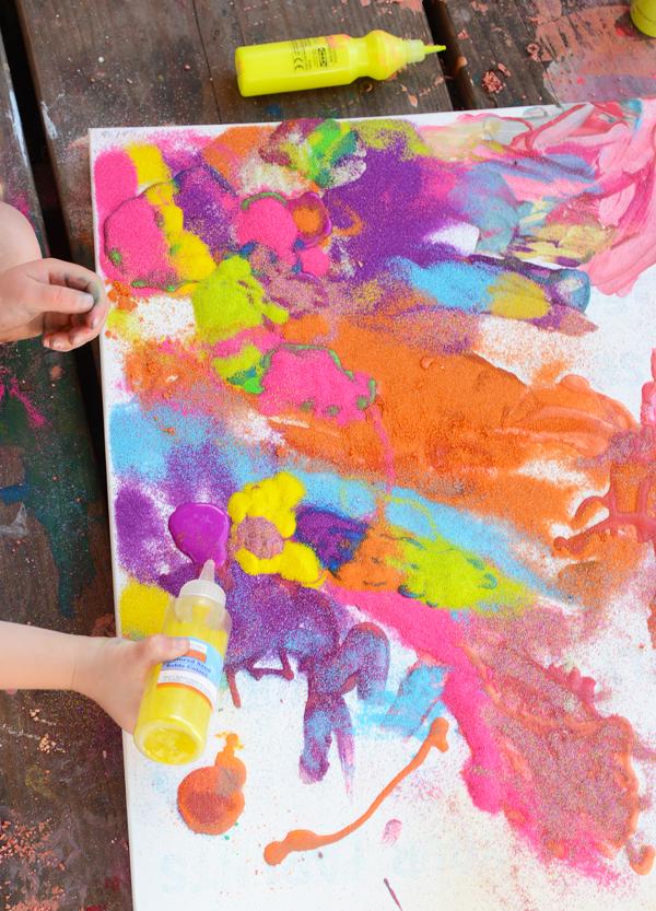 Meri Cherry - Pintura de arena