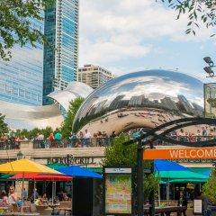 Millennium Park Dining Park Grill Chicago