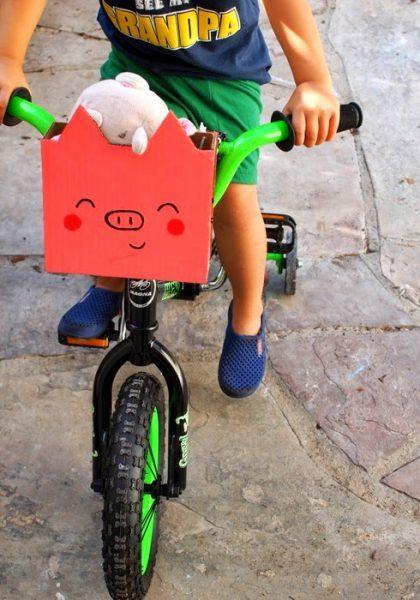 Piggy Bike Basket