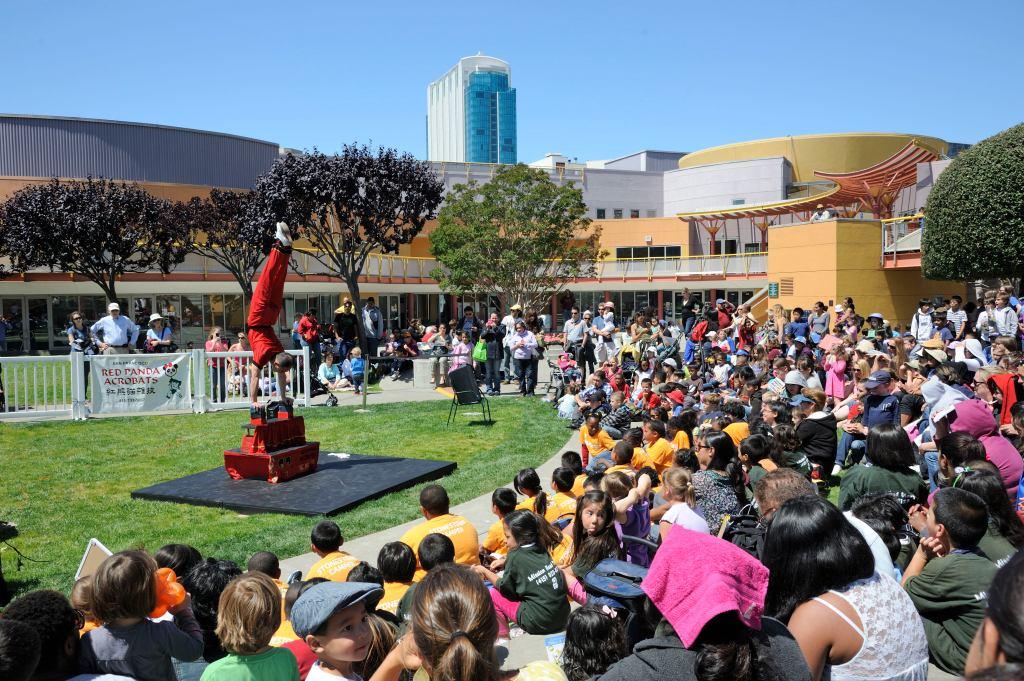 The Red Pandas Acrobats - Children's Garden Series at Yerba Buena Gardens Festival