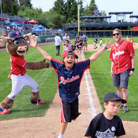 Tacoma Rainiers game from FB
