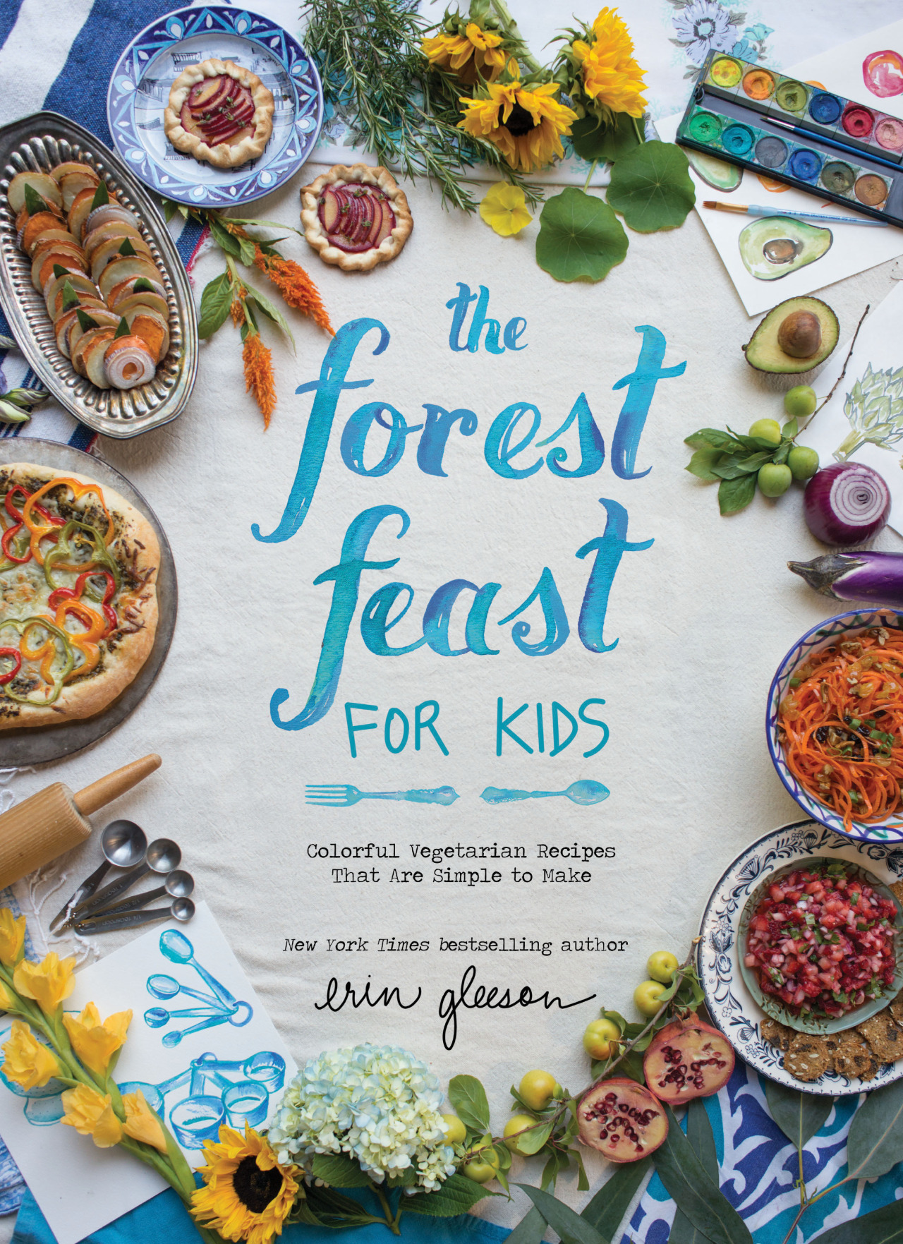 the forest feast for kids by erin gleeson