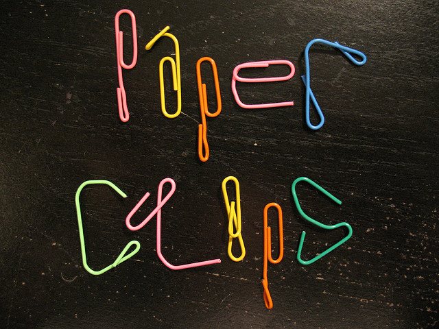 paper clip words hacks