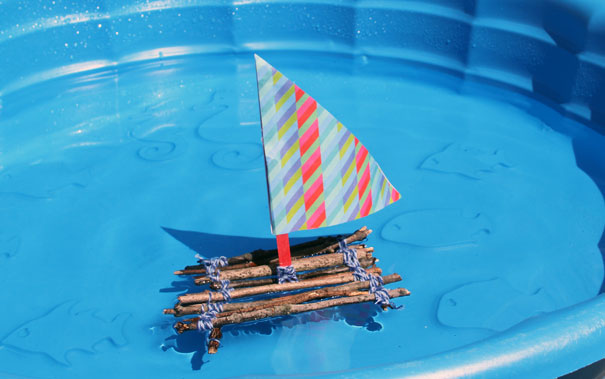 boat-in-pool