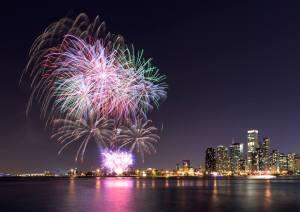 Navy Pier Fireworks 2