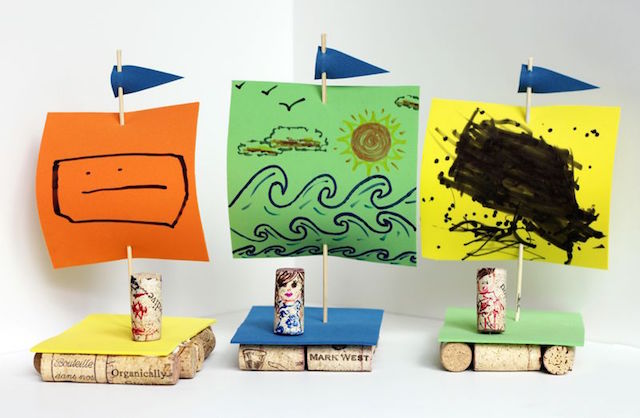 small friendly cork boats from website