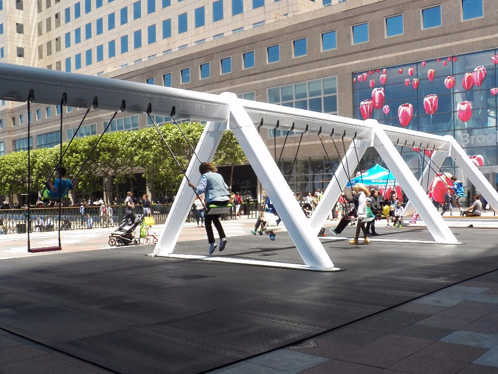 The Swings at Brookfield Place