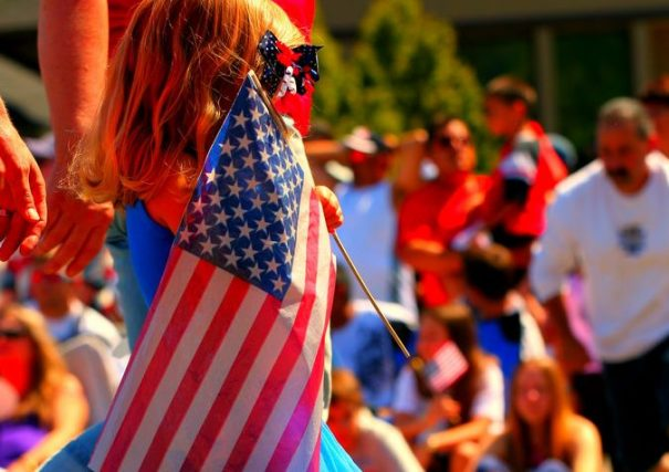 july 4 girl johnmorgan via flickr