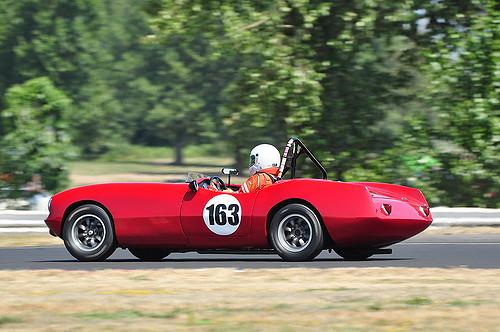vintage car race PDX