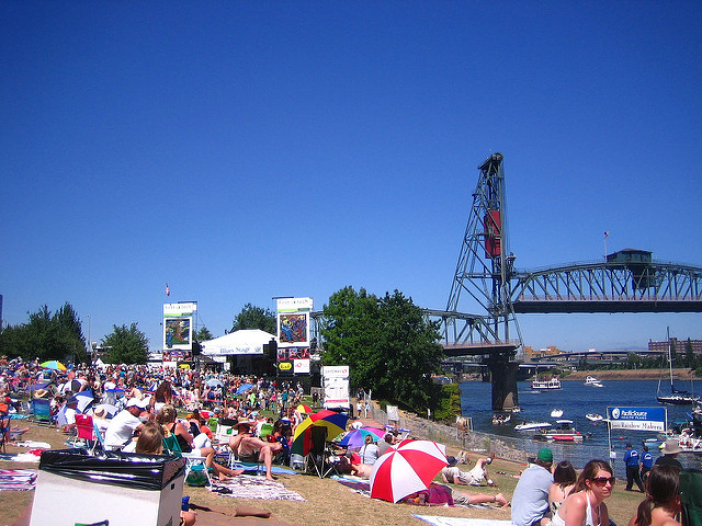 portland waterfront blues festival