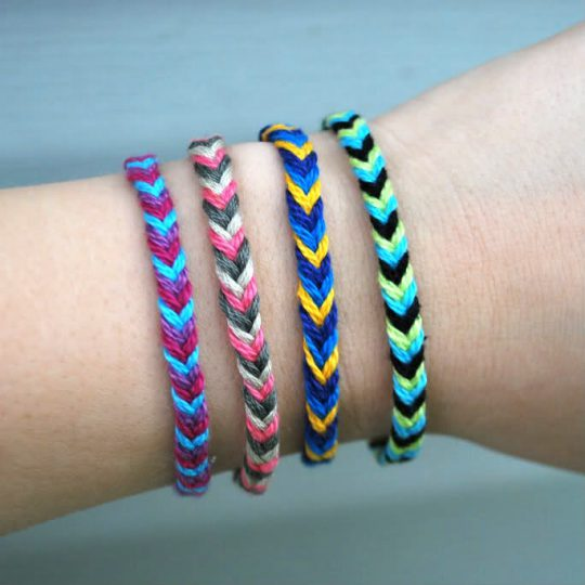 Cool And Easy To Make Friendship Bracelets