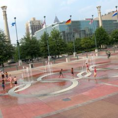 Fountain of Rings Music Show at Centennial Olympic Park