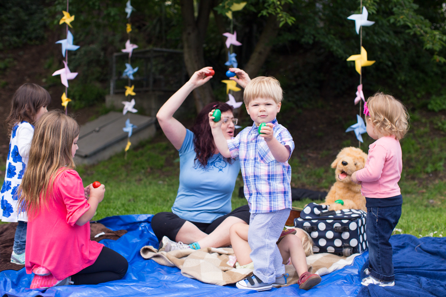 Pinwheel Themed Birthday Party