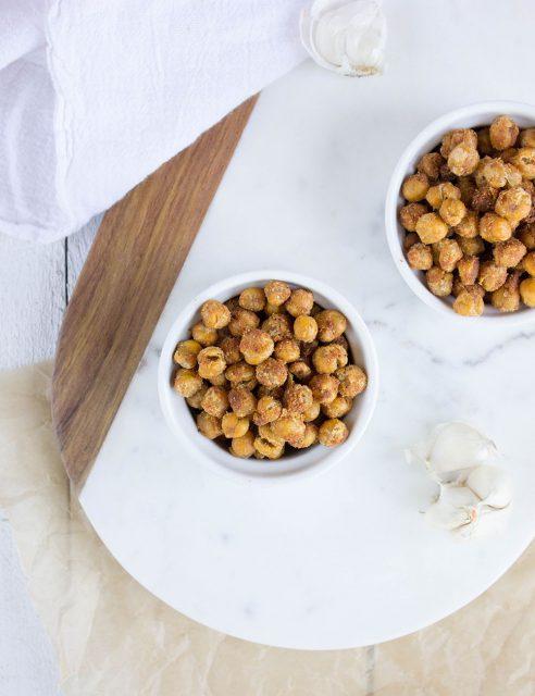 garlic-parmesan-chickpeas