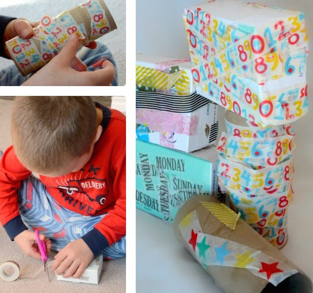Kids-Made-DIY-Toys-Building-Blocks-from-Recyclables-at-B-Inspired-Mama