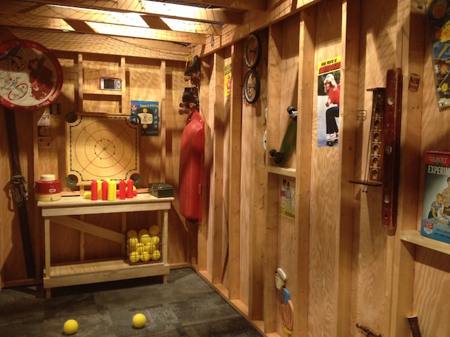 MOHAI nerf garage