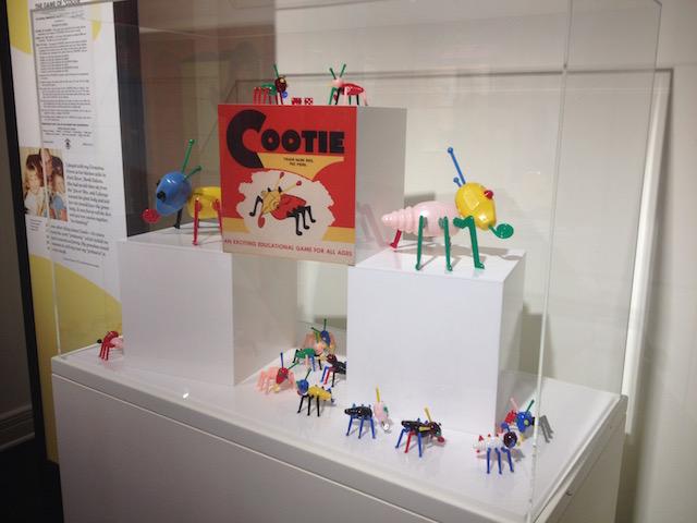 MOHAI Toys cooties display
