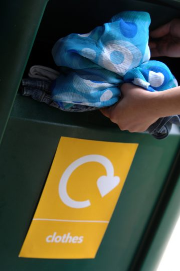 recycle clothing-wastebusters via flickr