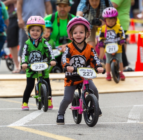Strider Bikes, the world's leading manufacturer and marketer of children's no-pedal balance bikes, is welcoming hundreds of balance bike racing toddlers – some still in diapers – to Pier 35 in San Francisco, July 29-30, for the 6th Annual Strider Cup World Championship presented by FedEx. This is the first time the event has been held in California. Toddlers as young as 18 months old put their Strider Bike skills to the test during these family-friendly races. The event will also feature a free Strider Adventure Zone play area with games and Strider Bikes to test ride (helmets provided). Miss Clo-the-Cow, the celebrity bovine from Clover Stornetta Farms, will also make an appearance.