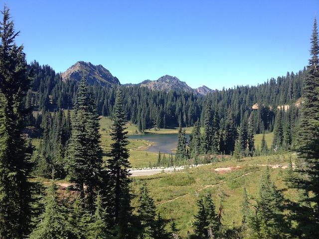 Tipsoo Lake Naches peak