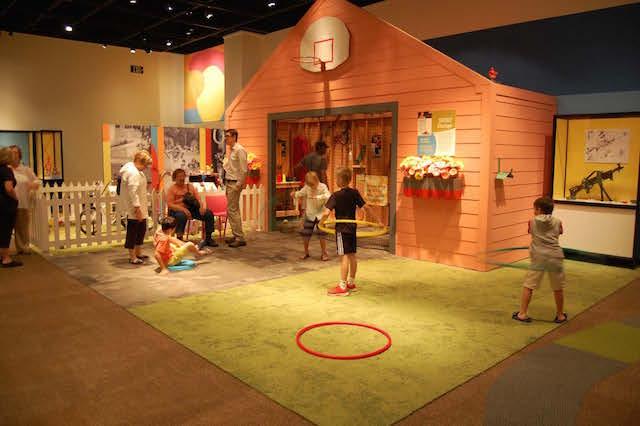 Toys hula hoops and garage MOHAI
