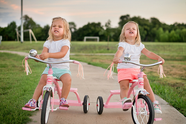 Twins with trikes donnie ray jones flickr