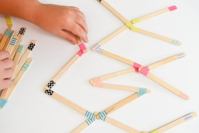 Washi Tape Dominos