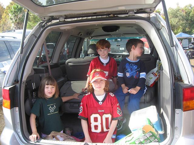 tailgating kids