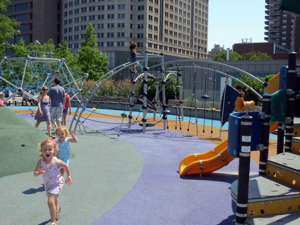 hudson river park playground