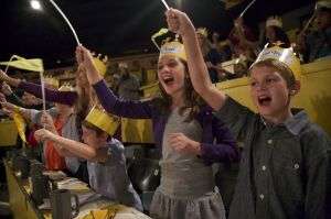 Medieval Times Kids with Crowns