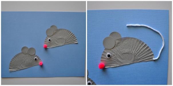 Mouse craft Roald Dahl