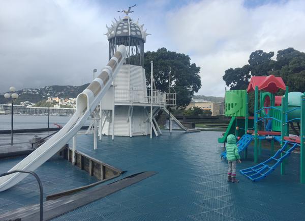 Frank Kitts Park, Wellington New Zealand
