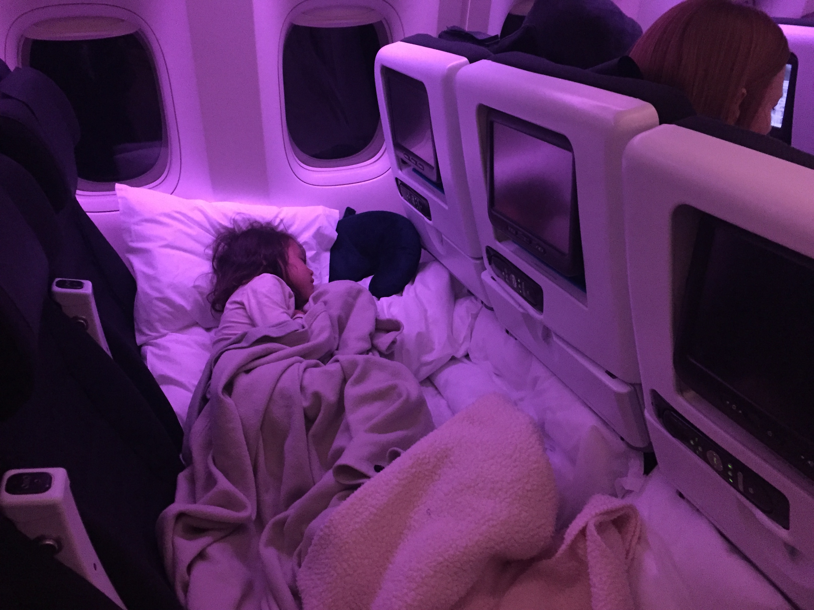 Sky Couch on Air New Zealand