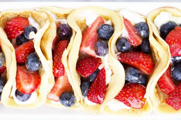 panqueques de desayuno