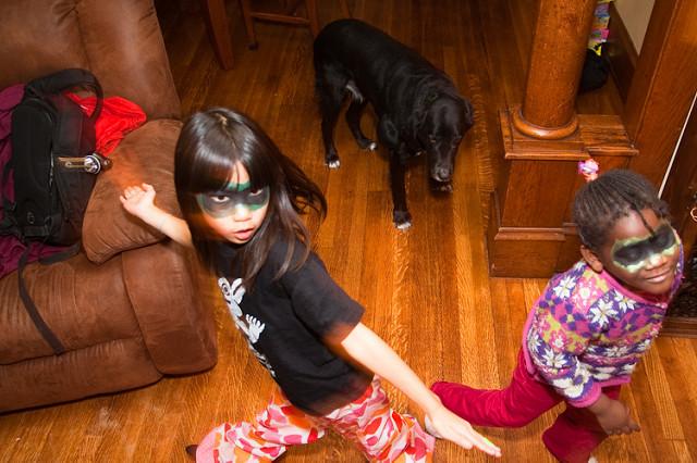 ninja kid girls