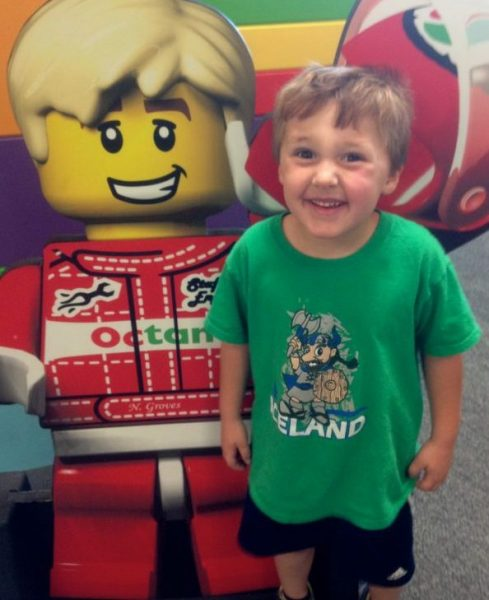 boy with Lego boy