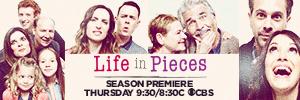 life in pieces logo