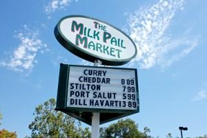 Milk Pail Sign