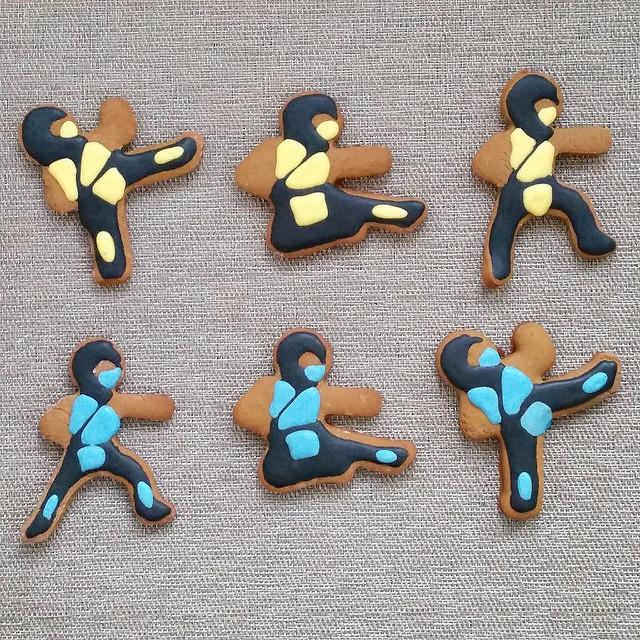 ninja men cookies