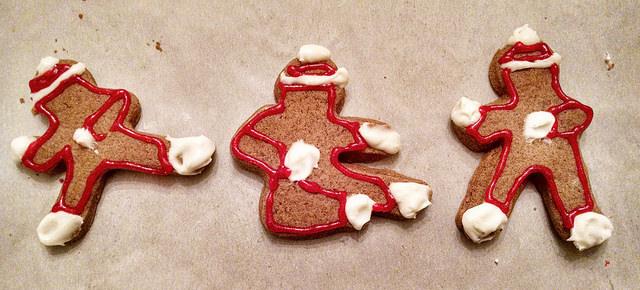 ninja bread men cookies