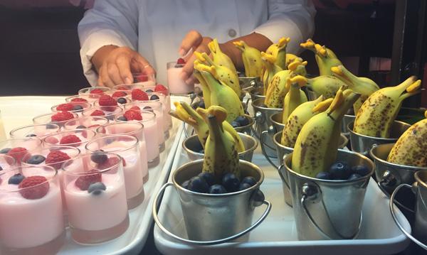 Dolphin Bananas at the Makahiki Restaurant