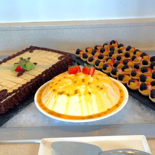 dessert at hyatt ziva