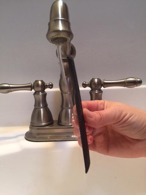 faucet comb science