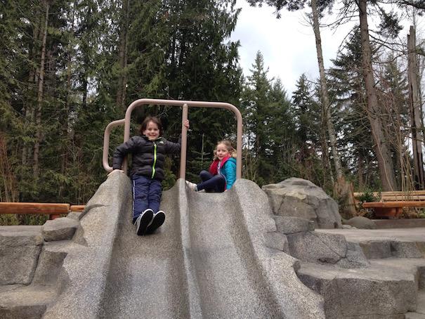 kids-on-slide-fall-day