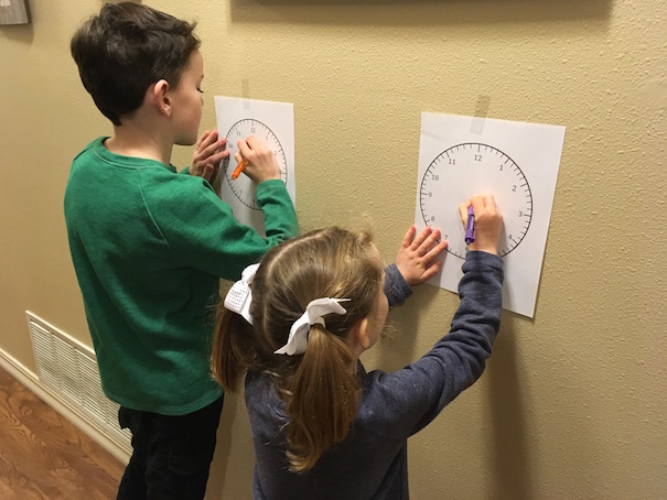 time-clock-races-boy-and-girl-allison-sutcliffe